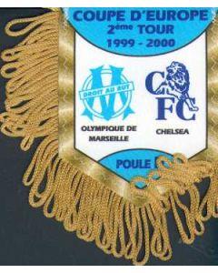 Marseille V Chelsea Pennant European Cup 1999-2000