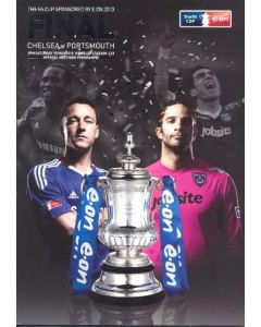 2010 FA Cup Final Programme Chelsea v Portsmouth 15/05/2010
