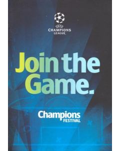 2012 Champions League Final Chelsea v Bayern Munich Official Pre-Final Champions Festival booklet in English 16-19/05/2012