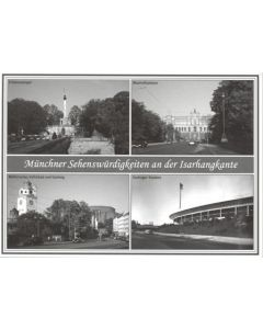 Postcard Showing TSV Munchen Stadium exterior