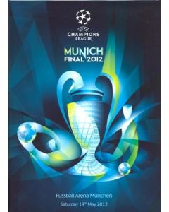 2012 Champions League Final Chelsea v Bayern Munich Official Pre-Final Champions Festival Press Kit Media Guide in English 16-19/05/2012