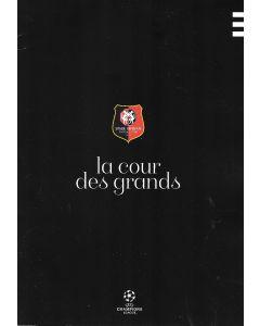 Rennes v Chelsea 24/11/2020 Official Programme also covers Rennes v Seville and Krasnodar