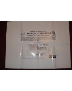 Champions League Poster Barca v Chelsea 18/04/2000