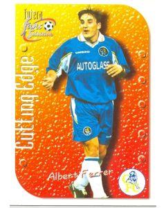 Albert Ferrer Chelsea 1999 card