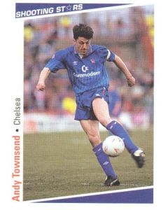 Andy Townsend Chelsea Shooting Stars Card