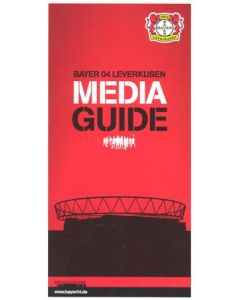 Bayer Leverkusen Media Guide Issued to Journalists attending Chelsea match 23/11/2011 Champions League
