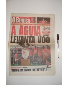 Benfica newspaper of 15/07/2005 covering Benfica v Chelsea
