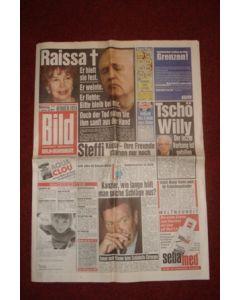 Bild German newspaper of 21/09/1999, covering Chelsea