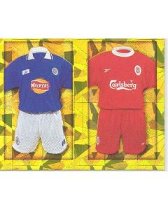 Chelsea and Manchester United Premier League 2000 sticker