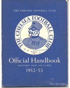 1952-1953 Chelsea Official Handbook