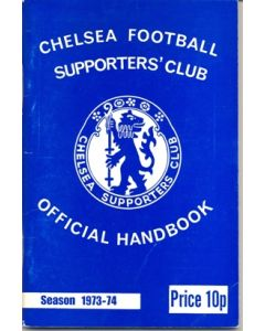 1973-1974 Chelsea Official Handbook of the Supporters' Club