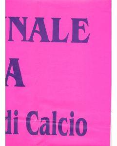 Cascia v Chelsea in the Italian Calcio large poster in Italian of 15/07/2001 non-programme match