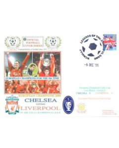Chelsea v Liverpool First Day Cover Legends of the Beautiful Game, Wembley 06/12/2005