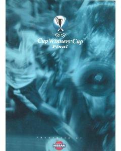 1998 Cup Winners Cup Final Press Pack Chelsea v Stuttgart