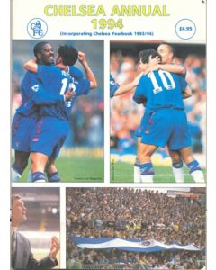 1993-1994 Chelsea Annual 1994, incorporating Chelsea Yearbook