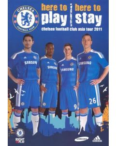 Chelsea Asia Tour July 2011 official media programme