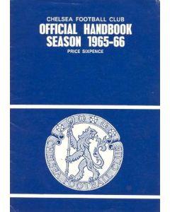 1965-1966 Chelsea Official Handbook Season