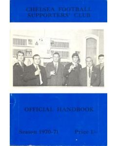 1970-1971 Chelsea Official Handbook of the Supporters' Club