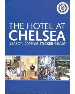 The Hotel at Chelsea Season 2005-2006 Sticker Chart