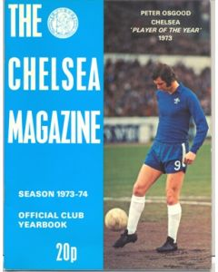 1973-1974 Chelsea Official Yearbook and Magazine