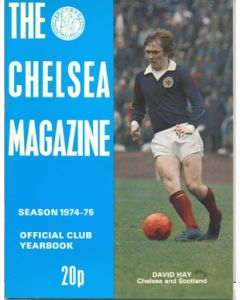 1974-1975 Chelsea Official Yearbook and Magazine