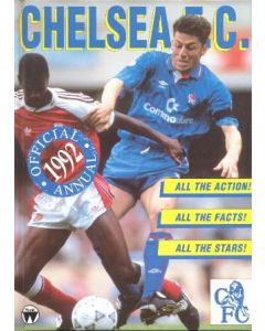Chelsea Official Annual 1992