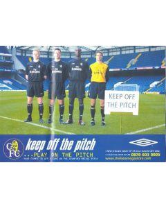 Chelsea poster of season 2002-2003