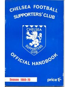1969-1970 Chelsea Supporters' Club Official Handbook