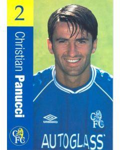 Chelsea - Christian Panucci official Chelsea card
