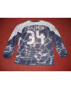 Football Memorabilia Shirt of Chelsea Goal Keeper Sullivan, Match Worn