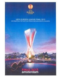 2013 Europa League Final - Chelsea v Benfica Information for the Press Handout in English 15/05/2013
