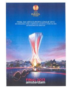 2013 Europa League Final - Chelsea v Benfica Information for the Press Handout in Portugese 15/05/2013