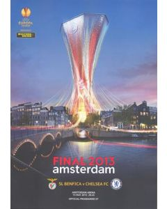 2013 Europa League Final Official Programme Chelsea v Benfica 15/05/2013