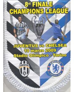 Juventus v Chelsea Champions League Final Pennant Turin 10/03/2009