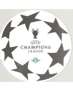 Real Betis v Chelsea Champions League 2004-2005 souvenir, produced by a local bank