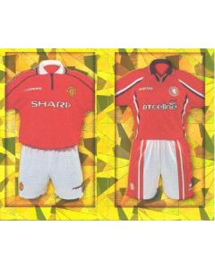 Manchester United and Chelsea Premier League 2000 sticker