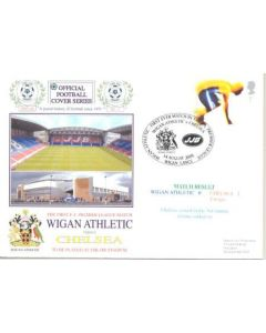 Wigan Athletic v Chelsea First Day Cover 14/08/2005